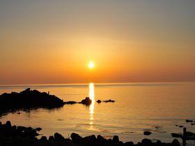 海の絶景!夕陽のまち山形・温海で日没のカウントダウン|山形県|トラベルjp<たびねす>