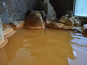 濃厚な褐色源泉とかき餅がスゴい!島根の秘湯「かきのき温泉」