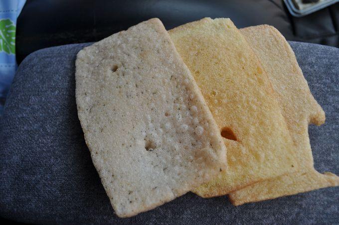 柿木村のかき餅を