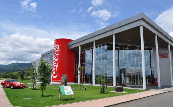 巨大なコカ・コーラの缶が目印「グリーンパークえびの」