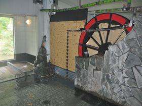 浴室内の大水車がスゴい!新潟県・河原沢鉱泉「幸栄館」|新潟県|トラベルjp<たびねす>