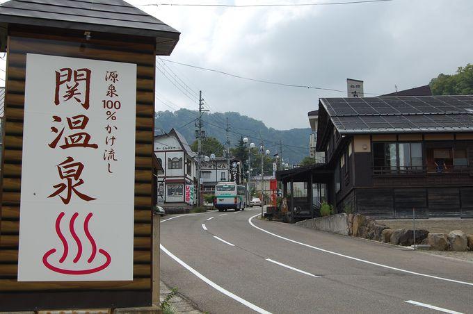 源泉掛け流し宣言の町!新潟・関温泉の赤湯と銘菓
