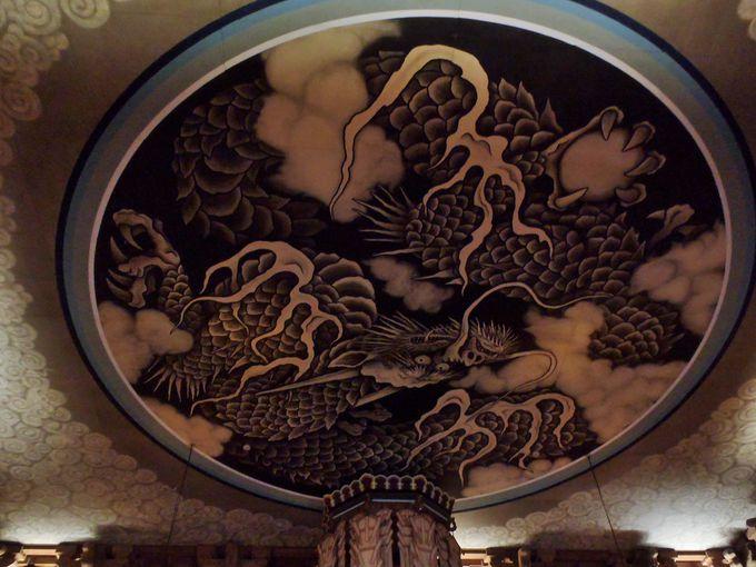法堂の雲竜図