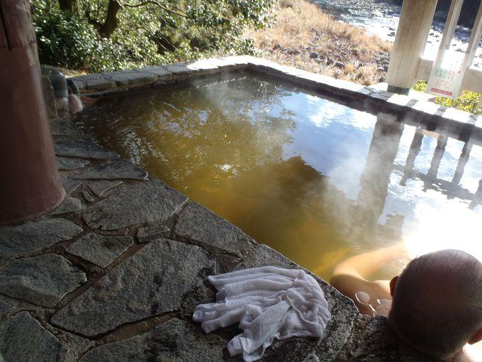 薬草風呂が露天の目玉