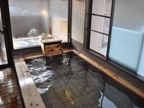 浴室はすべて木曽の檜!長野「いわや」は木曽路最古の老舗宿