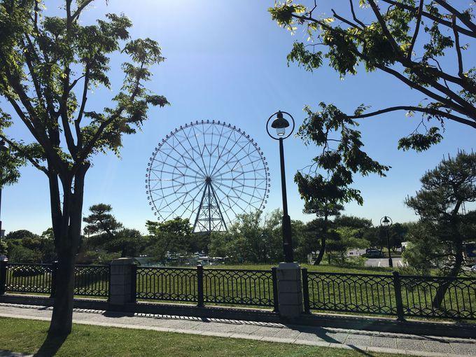 東京湾に面した「葛西臨海水族園」の帰りには、「ダイヤと花の大観覧車」やバーベキューもオススメ!