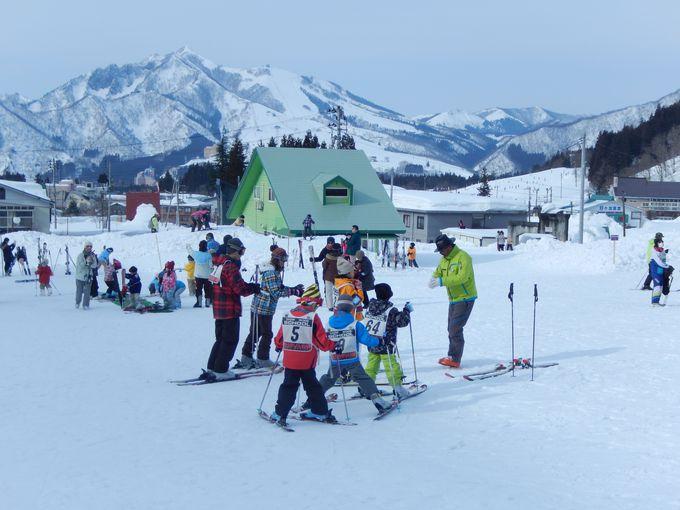 2つのスキー場が使える!利便性が高いロケーション
