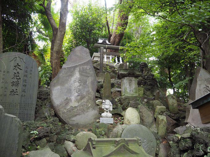 富士信仰を今に伝える「羽田富士」