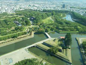 五稜郭に四稜郭と三稜郭、陣屋跡も!函館の城巡りが面白い