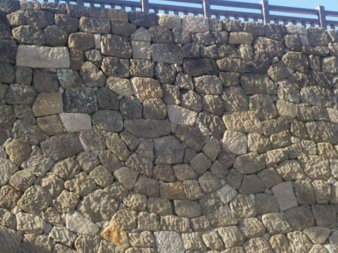 清水門と知る人ぞ知る「鷹の目積みの石垣」!