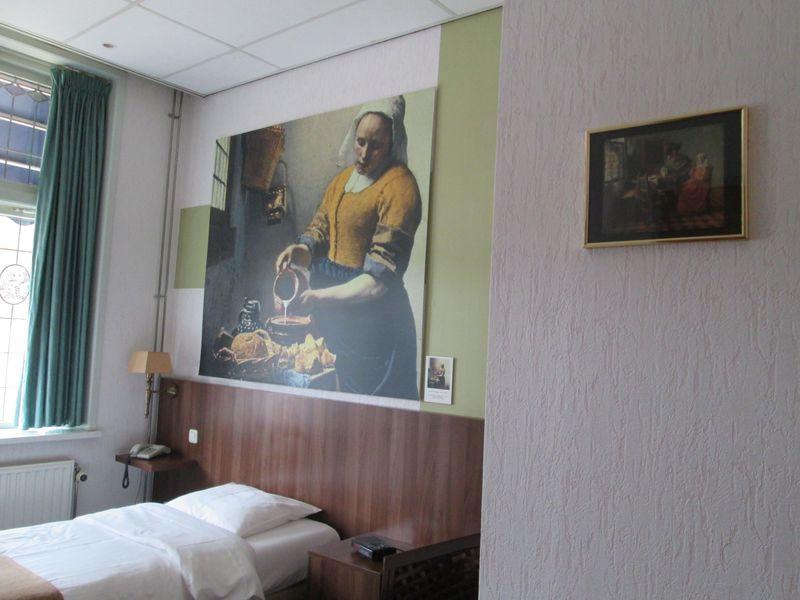 フェルメールゆかりの場所で過ごす!オランダ「ホテル・デ・コーパンデル」