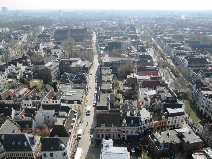 オランダらしさがぎゅっと詰まった、ユトレヒトの街並みを!