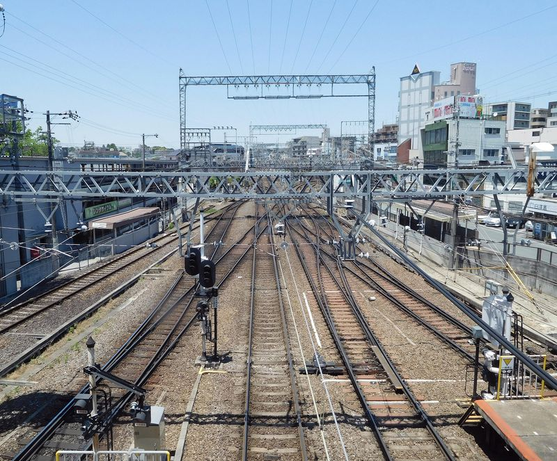 タモリもおすすめ!鉄道好きの集まる駅・奈良「大和西大寺駅」の日本一ポイント