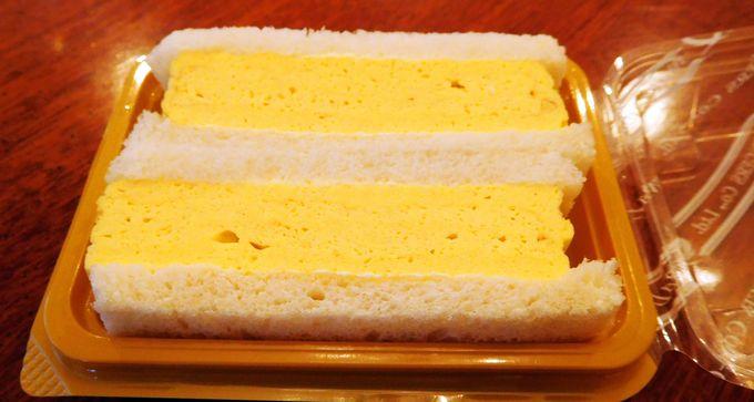 大人気の関西グルメ「玉子焼きサンド」は一口食べきりサイズ