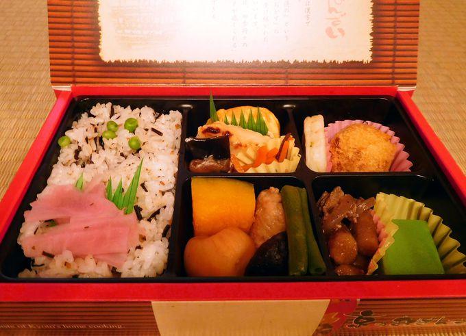 京都のおふくろの味「京のおばんざい」はキレイな日本のお弁当