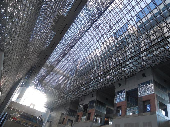 京都駅からすぐ:京都駅ビル