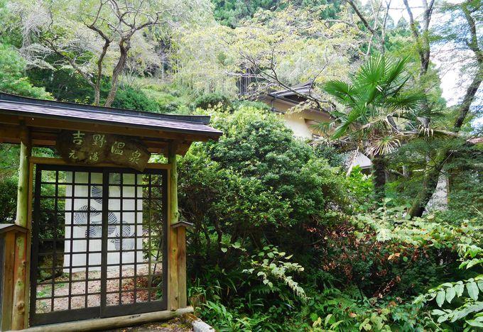 吉野の山にひっそり佇む、伝説のお湯を守る宿