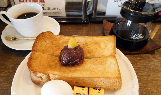 朝から並んででも食べたい!コーヒー専門店の名古屋モーニング