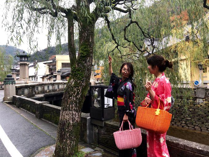 城崎をゆかたで可愛く歩けることで評判の「大江戸温泉物語 きのさき」