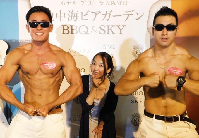 ビアガーデンで「35億!」ホテル・アゴーラ大阪守口の女子飲みが楽しい!