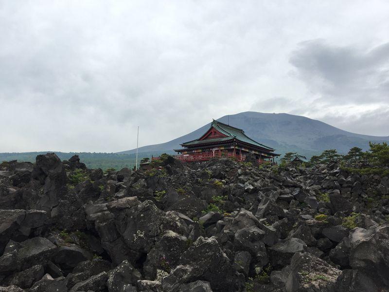 園内中央は東叡山寛永寺別院も