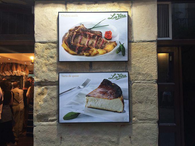 デザートは絶品チーズケーキで!「La Vina」