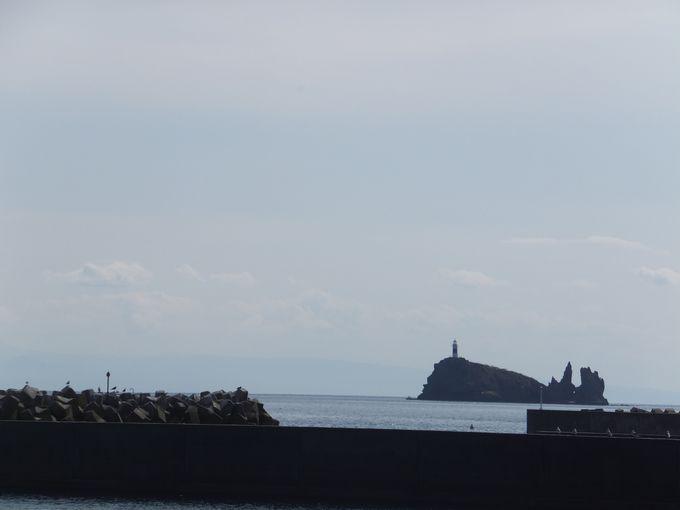 脇野沢村のジオサイト鯛島