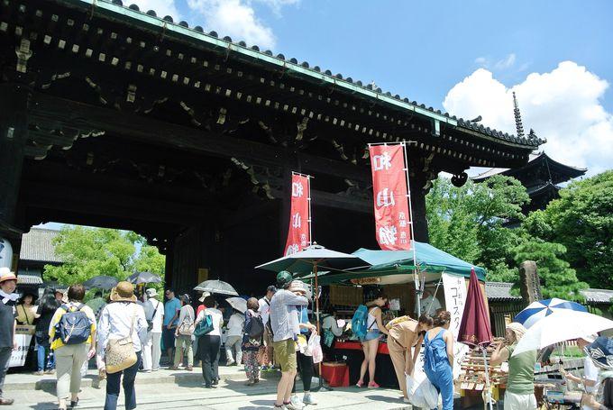京都駅から歩いていけるスポット東寺