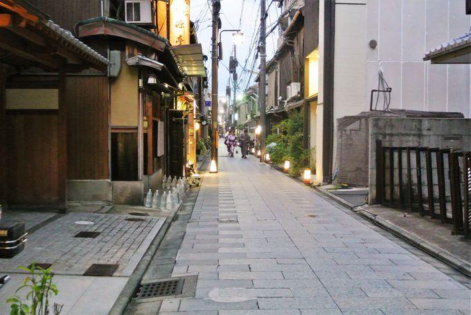 京都の花街、宮川町