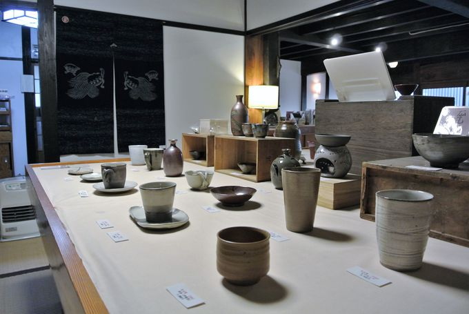 鳥取の伝統工芸が揃う「高砂屋」