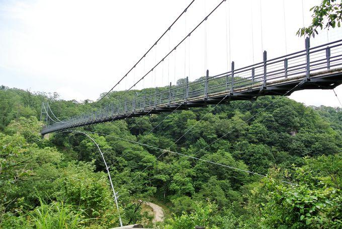 """ドキドキがとまらない「舌震の""""恋""""吊り橋」"""