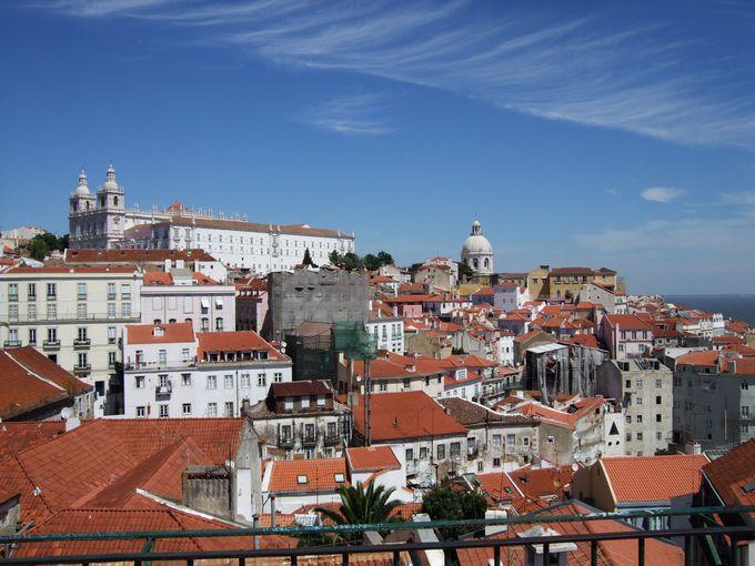 リスボンの高台に聳える絶景・サンヴィセンテ教会