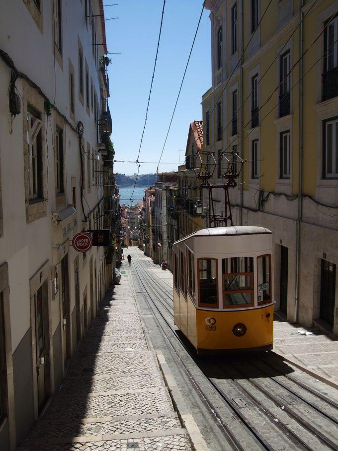 これぞリスボン!ビッカ通りの路面電車