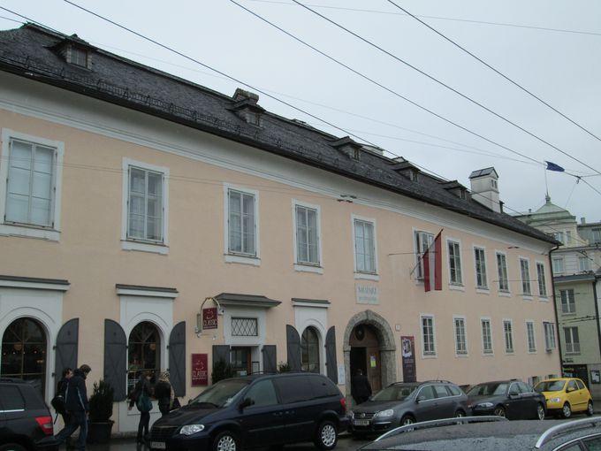 音楽ファンにはたまらない!モーツァルトの住居