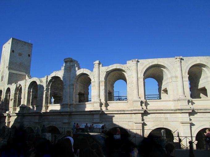 アルルにはローマ遺跡がたくさん!