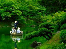 ミシュラン3つ星の大名庭園!?香川・高松の栗林公園は「一歩一景」のフォトジェニックスポット!|香川県|トラベルjp<たびねす>