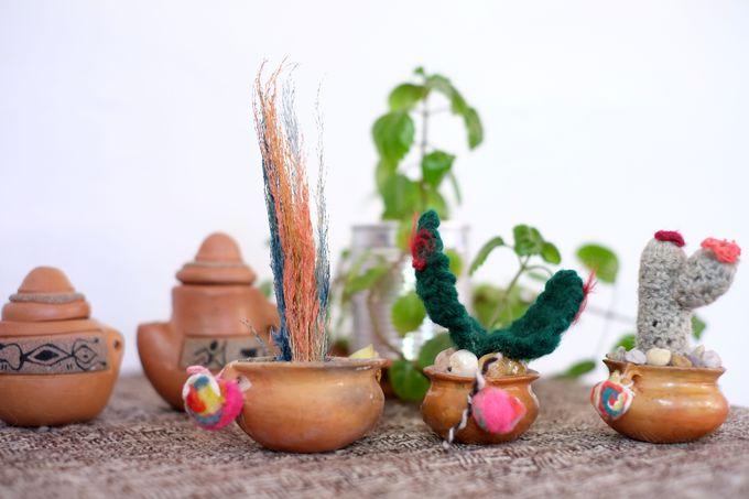 可愛い手作り陶器