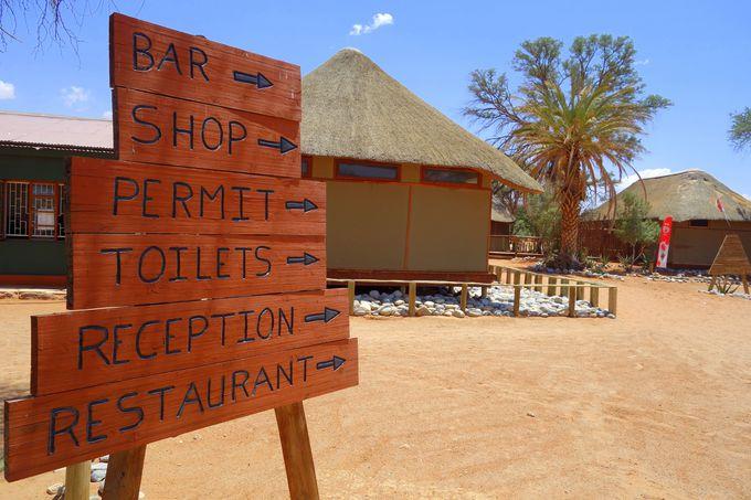 ナミブ砂漠観光の拠点・セスリム