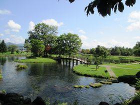 滾々と湧き出る名水が作る北海道京極町「吹き出し公園」の美景|北海道|トラベルjp<たびねす>