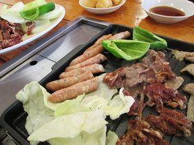 ジンギスカン食べて、道産子ばん馬に乗って!「松の実」と「アースドリーム角山農場」江別市|北海道|トラベルjp<たびねす>