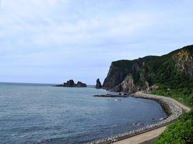 大自然の美術館!美しい海岸線が特徴的な北海道神恵内村の絶景