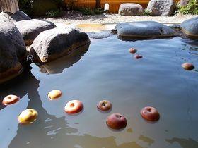 可愛いりんごと一緒にぷかぷか。山形「りんご温泉」で安らぎの休日|山形県|トラベルjp<たびねす>