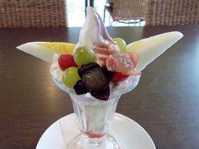 甘い宝石果実パフェ!山形上山・HATAKECafeのキュートさがたまらない|山形県|トラベルjp<たびねす>