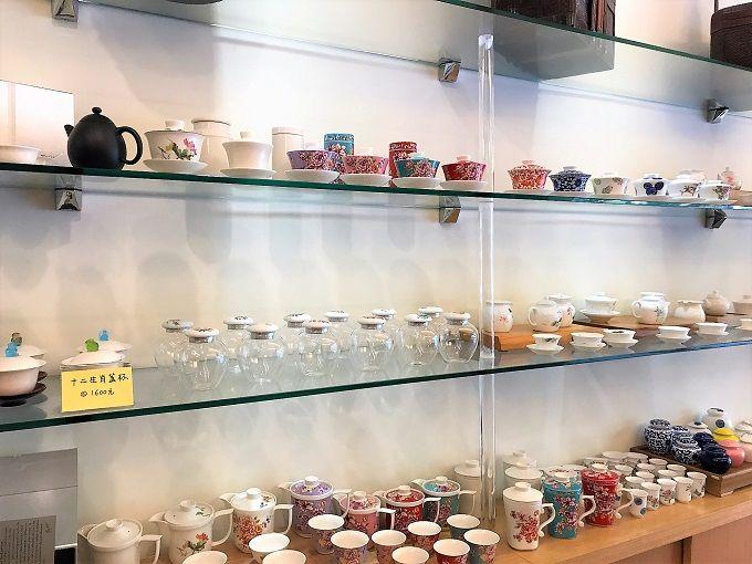 質の良い台湾茶と素敵な茶器