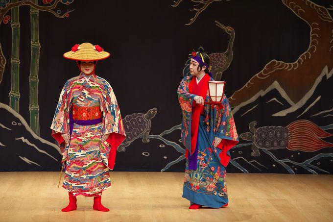 300年の伝統を持つ沖縄の芸能「組踊」。国立劇場おきなわで、世界に誇る沖縄の美と粋に出逢う。