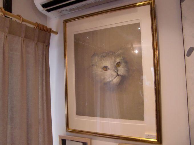 猫好き画家が描いた猫作品