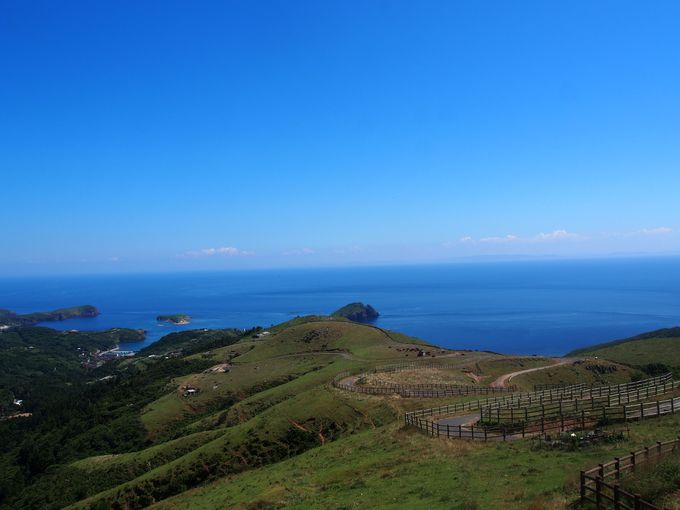 知夫里島「赤ハゲ山展望台」で隠岐4島パノラマビュー!