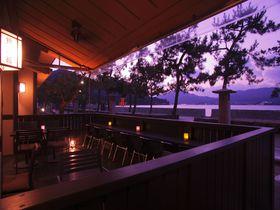 「神の島」の温泉宿、宮島錦水館で美しい夕日に包まれる贅沢|広島県|トラベルjp<たびねす>