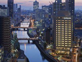 息を飲む夕景と絶品朝食!SPAもいい「三井ガーデンホテル大阪プレミア」