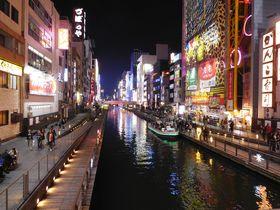 道頓堀へ徒歩なんと20秒、「ホリデイ・イン大阪難波」で大阪満喫